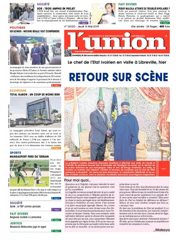 L'Union 16/05/2019