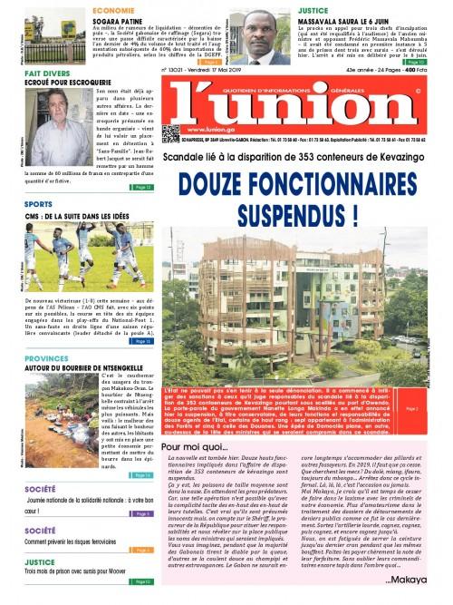 L'Union 17/05/2019