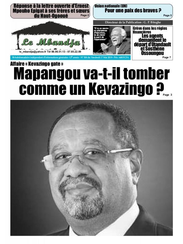 Le Mbandja 17/05/2019