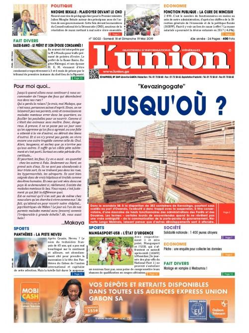 L'Union 18/05/2019