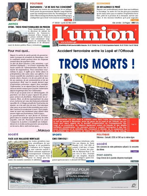 L'Union 20/05/2019