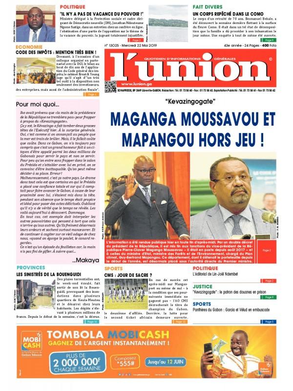 L'Union 22/05/2019