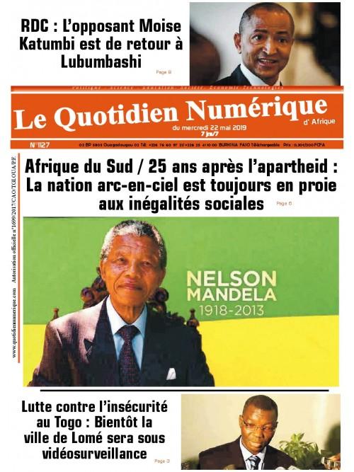 QUOTIDIEN NUMERIQUE D AFRIQUE  22/05/2019