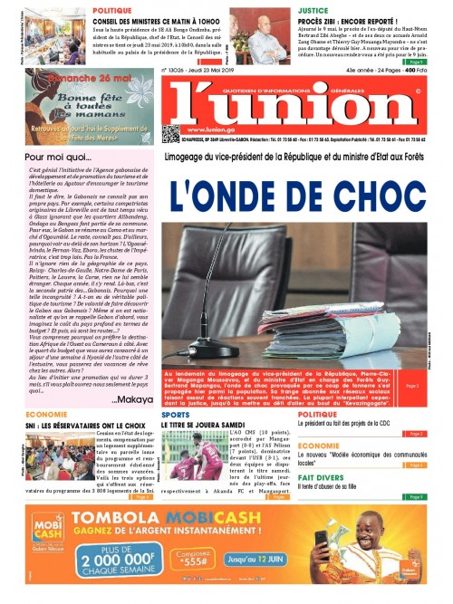 L'Union 23/05/2019