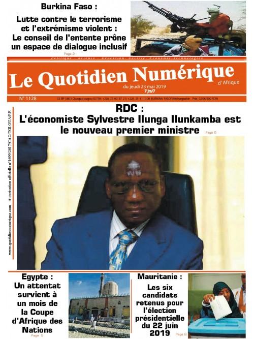 QUOTIDIEN NUMERIQUE D AFRIQUE  23/05/2019