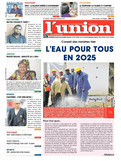 L'Union 24/05/2019