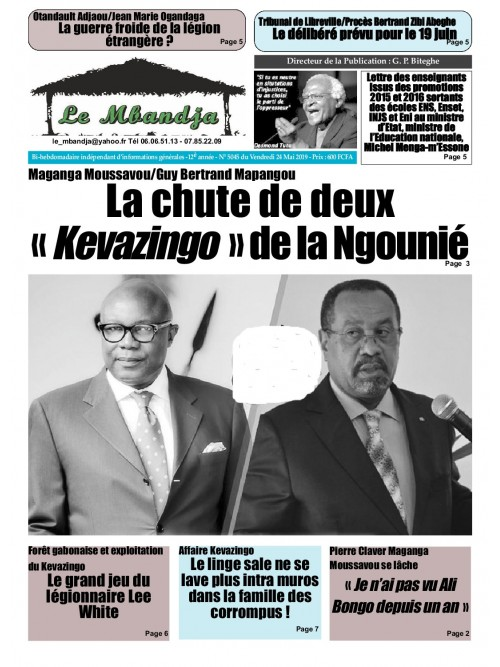 Le Mbandja 24/05/2019