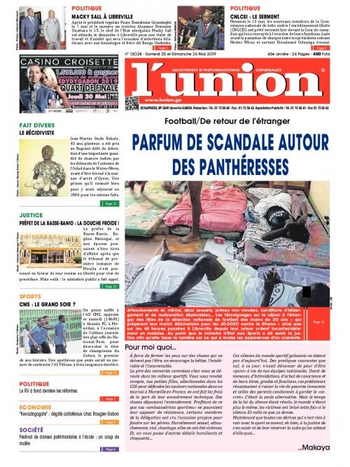 L'Union 25/05/2019