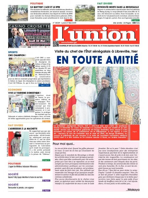 L'Union 27/05/2019