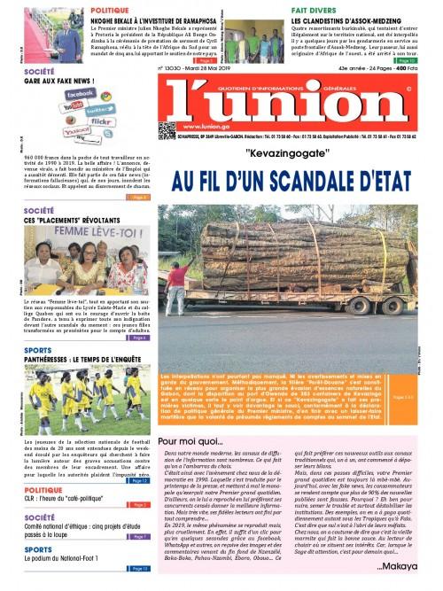 L'Union 28/05/2019