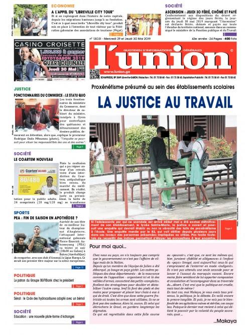 L'Union 29/05/2019