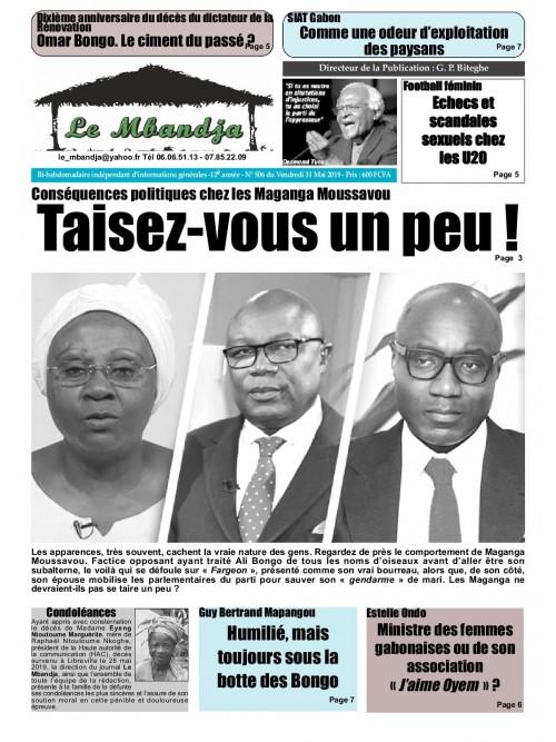 Le Mbandja 31/05/2019