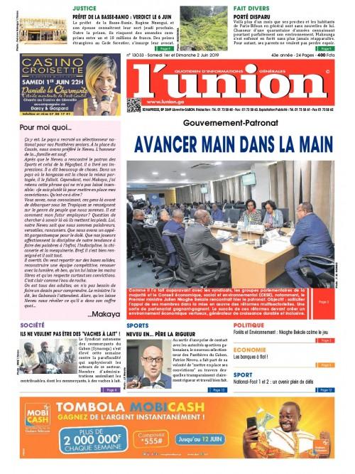 L'Union 01/06/2019
