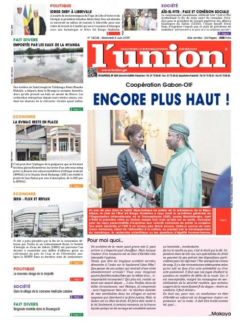 L'Union 05/06/2019
