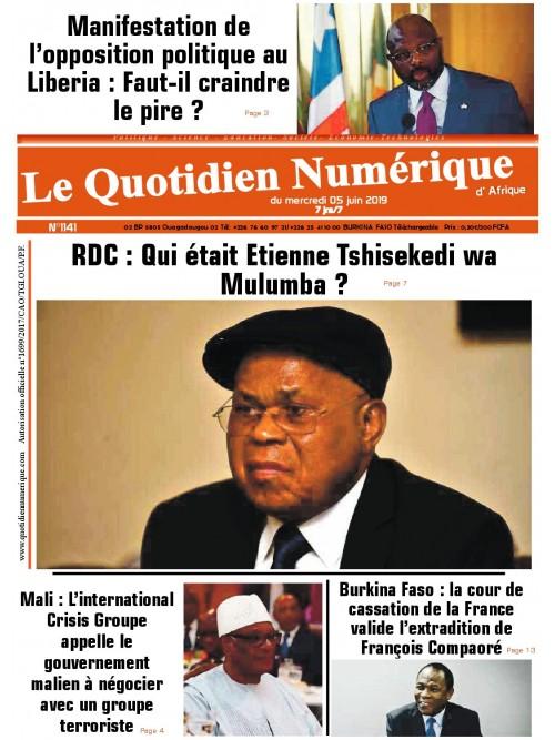 QUOTIDIEN NUMERIQUE D AFRIQUE  05/06/2019