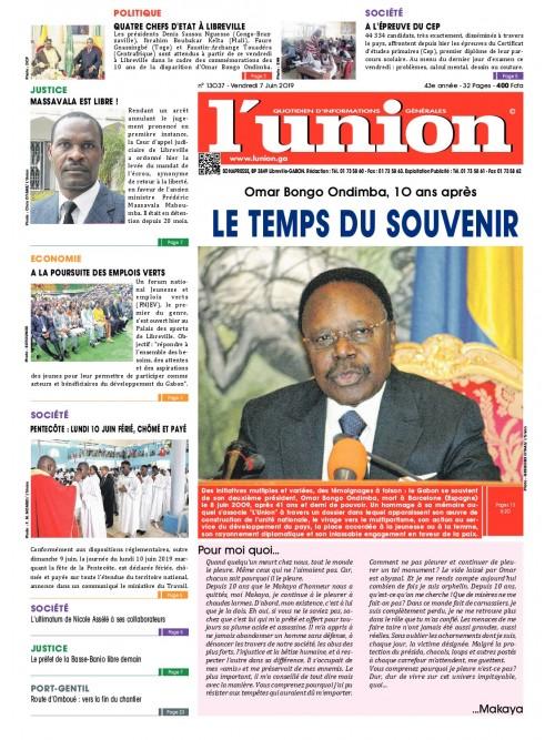 L'Union 07/06/2019