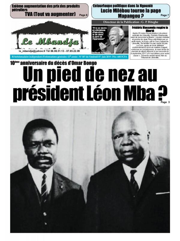 Le Mbandja 07/06/2019