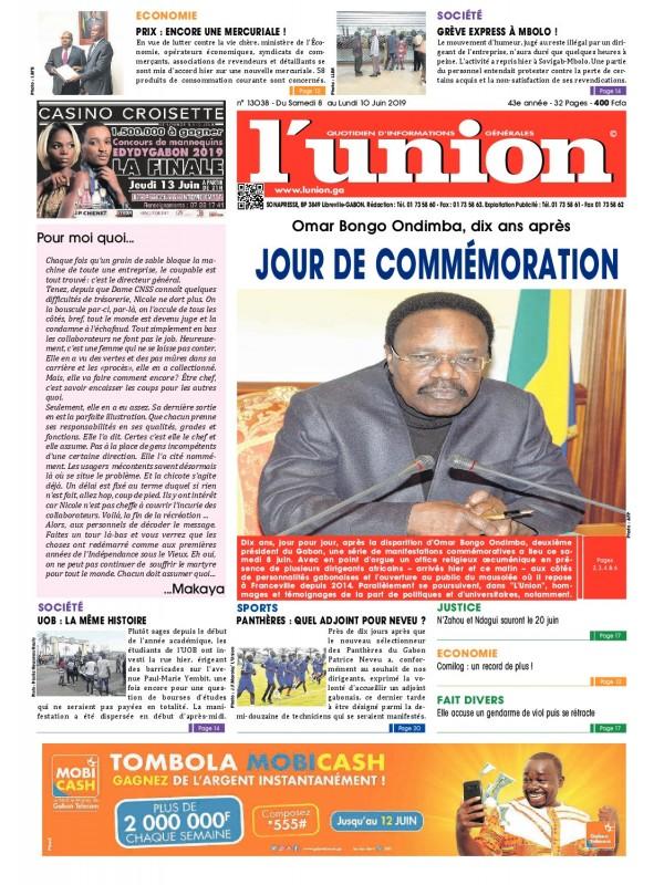 L'Union 08/06/2019