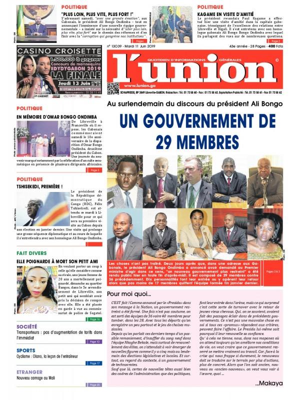 L'Union 11/06/2019