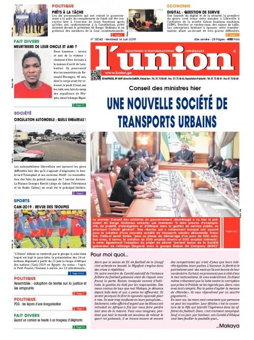 L'Union 14/06/2019