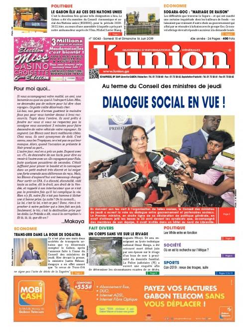 L'Union 15/06/2019