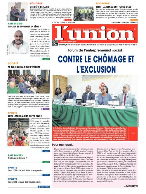 L'Union 17/06/2019