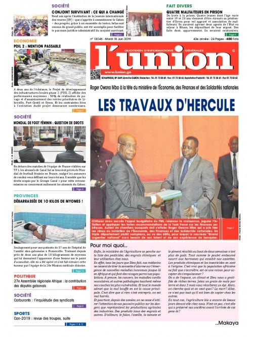 L'Union 18/06/2019