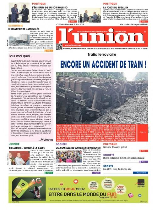 L'Union 19/06/2019