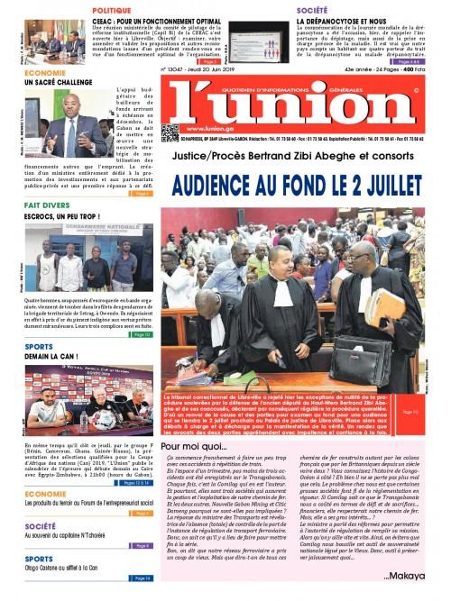 L'Union 20/06/2019