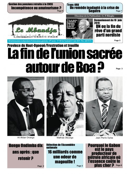 Le Mbandja 21/06/2019