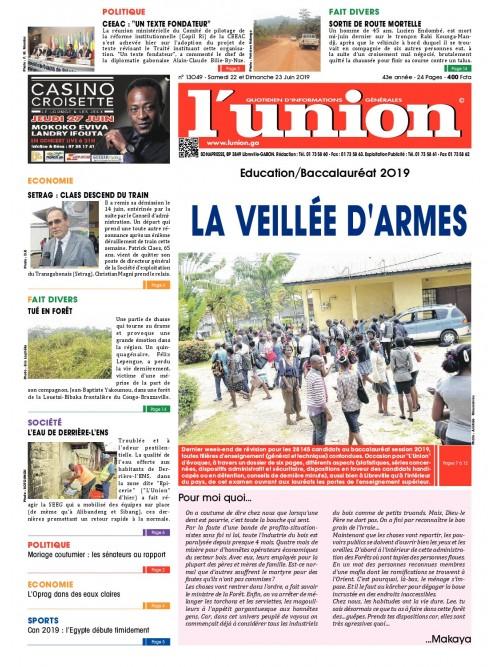 L'Union 22/06/2019