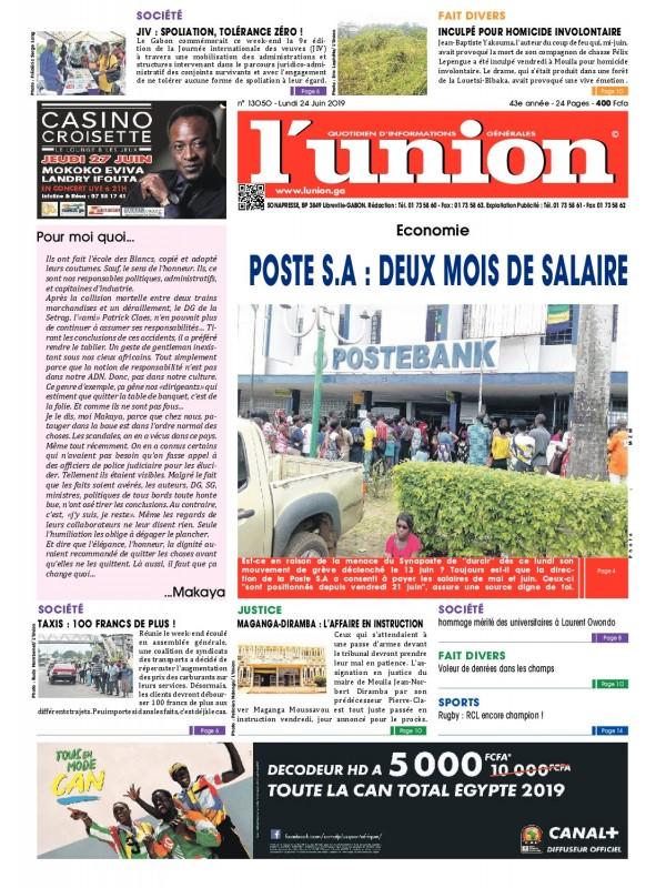 L'Union 24/06/2019