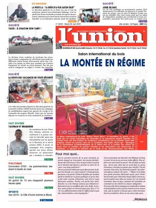 L'Union 25/06/2019