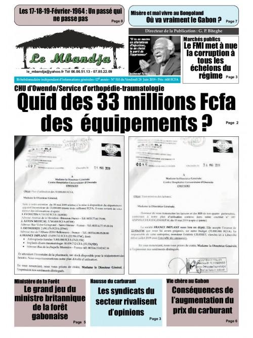 Le Mbandja 28/06/2019