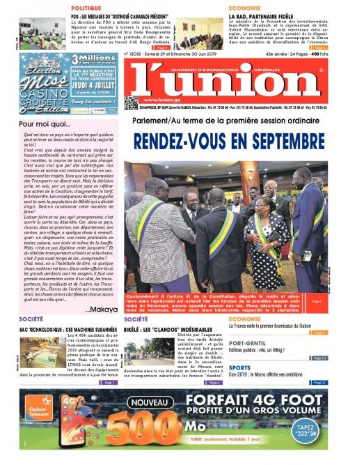 L'Union 29/06/2019