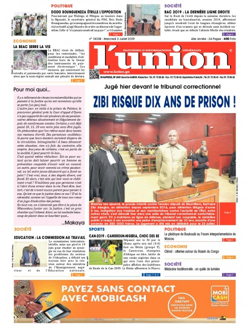 L'Union 03/07/2019