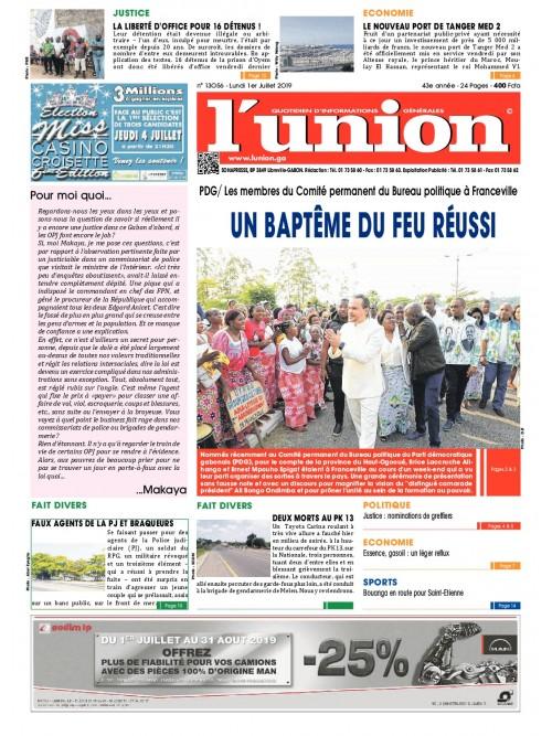 L'Union 01/07/2019