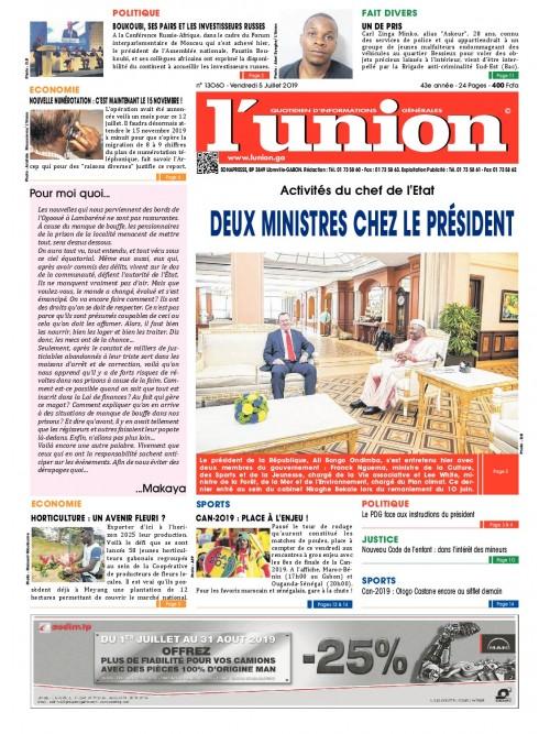 L'Union 05/07/2019