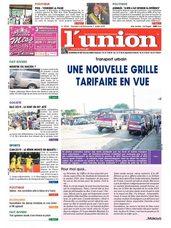L'Union 06/07/2019