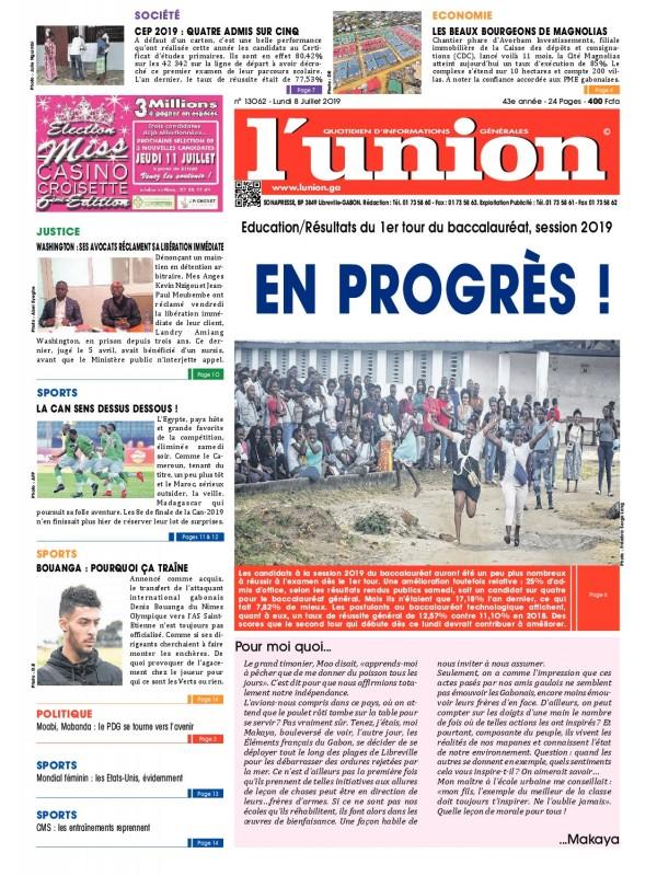 L'Union 08/07/2019