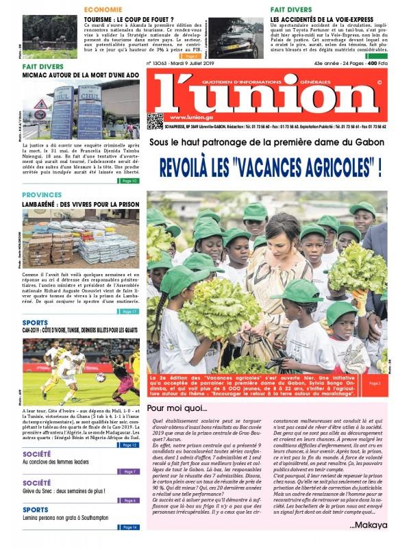 L'Union 09/07/2019