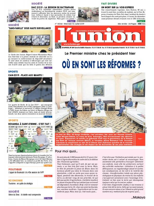 L'Union 10/07/2019