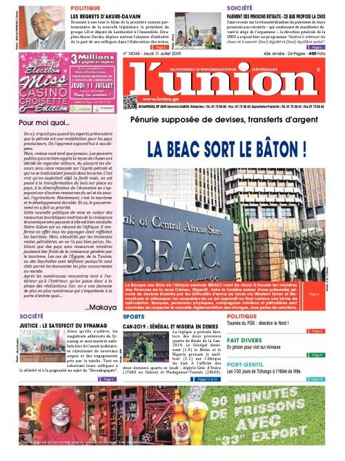L'Union 11/07/2019