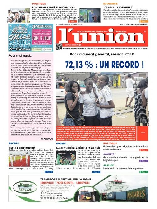 L'Union 15/07/2019