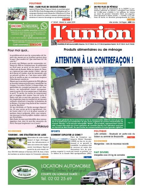 L'Union 16/07/2019
