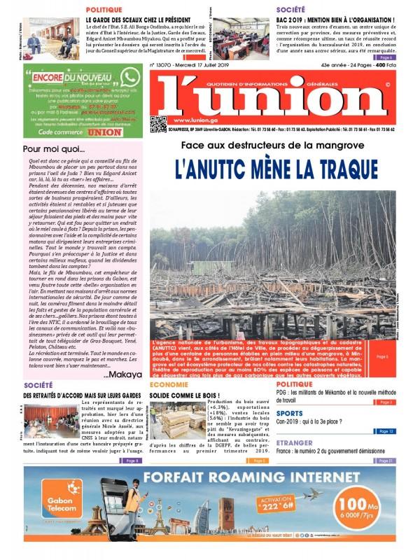 L'Union 17/07/2019