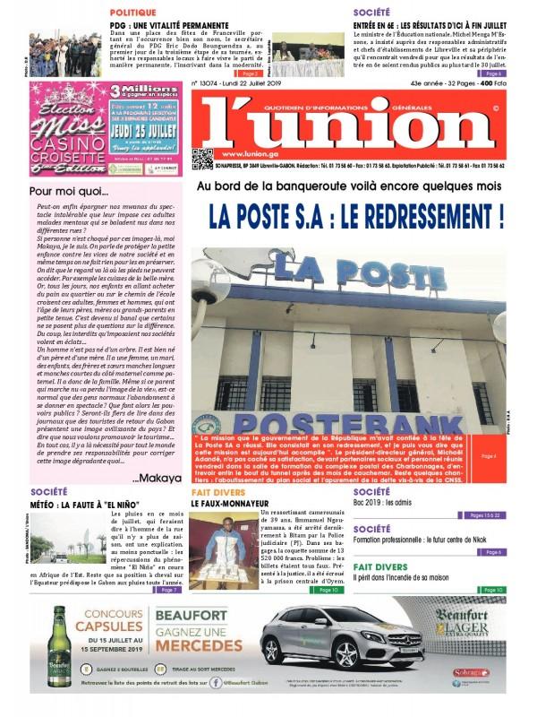 L'Union 22/07/2019