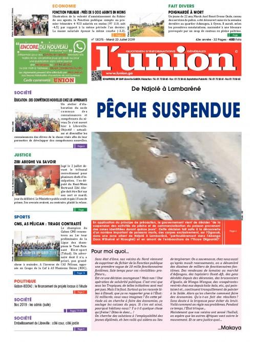 L'Union 23/07/2019