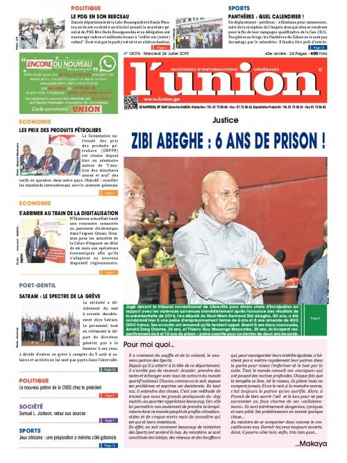 L'Union 24/07/2019