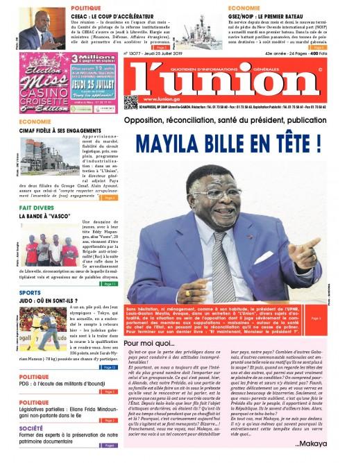L'Union 25/07/2019
